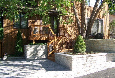 Private Residence | Barrington, IL | Before & After Front Entry