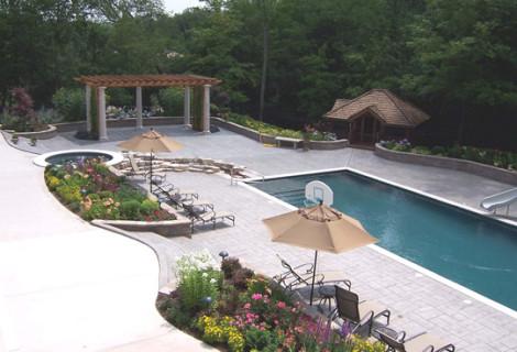 Private Residence | Oak Brook, IL | Backyard Retreat