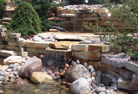 Wilson Nurseries & Landscape Supply | Volo, IL | Waterfall